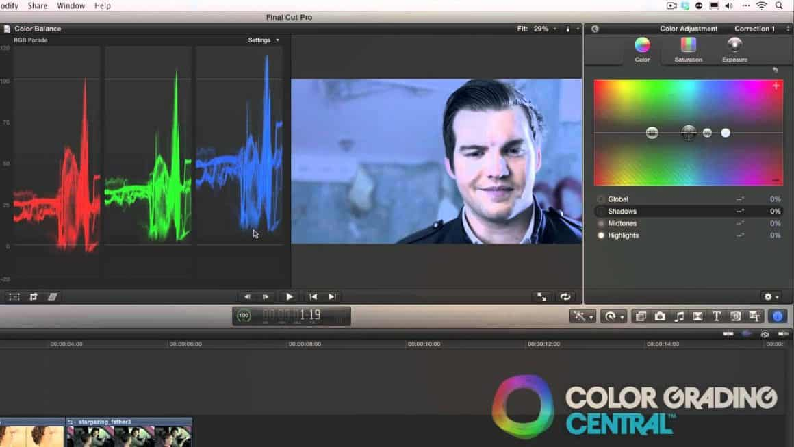 Color Grading in Final Cut Pro X