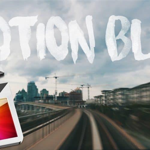 Motion Blur in FCP X