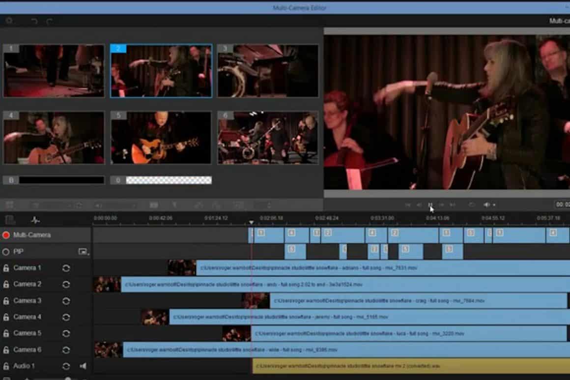 Multi-cam Editing; Edit