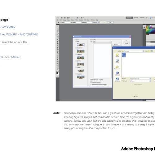 Photomerge Primer