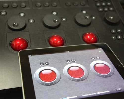 Tangent's iPad Control Surface for Apple's Color